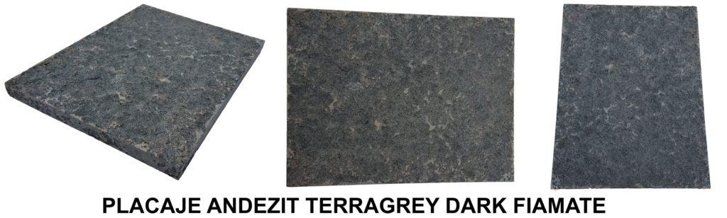 PLACAJE ANDEZIT TERRAGREY DARK FIAMATE