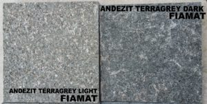 Placaj andezit Terregrey Light vs Dark fiamat