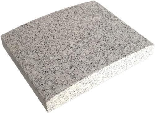 Capace de gard granit Terrabianco coama semirotund